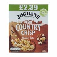 Jordans Country Crisp Chunky Nut 400G