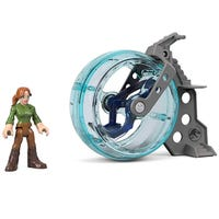 Jurassic World Imaginext Figure Claire and Gyrosphere