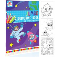 Jumbo A4 Colouring Book 160 Pages