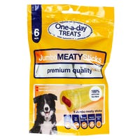 One-A-Day Jumbo Meaty Sticks 6 Pack