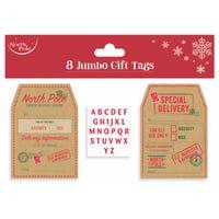 Jumbo Gift Tag 8 Pack