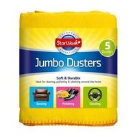 Jumbo Dusters 5 Pack