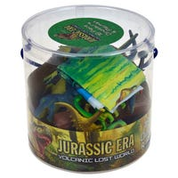 Jurassic Era Dinosaurs and Playmat 18 Pack