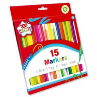 Colouring Marker Pens 15 Pack