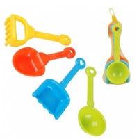 Children's Plastic Gardening Tools Set of 4