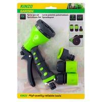 Kinzo Hose Spray Gun 4 Piece Set