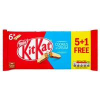 KitKat Fingers Cookies and Cream 6 Pack