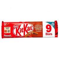 KitKat Hazelnut Spread 9 Pack
