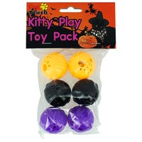 Novelty Kitty Play Toys 6 Pack