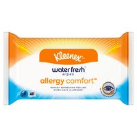 Kleenex Water Fresh Allergy Comfort Wipes 40 Pack