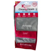 Kleeneze Clean and Gleam Cloths 4 Pack
