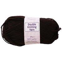 Double Knitting Yarn Dark Brown 240m