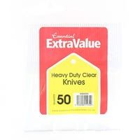 Super Value Heavy Duty Knives 50 Pack