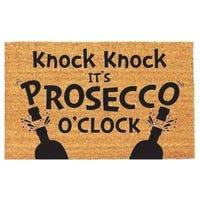 Door Mat Prosecco O'Clock 40 x 60cm