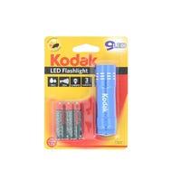 Kodak LED Flashlight including 3 Batteries Assorted