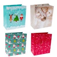 Christmas Gift Bags Large 4 Pack