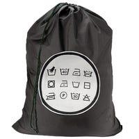 Large Laundry Bag with Washing Symbols
