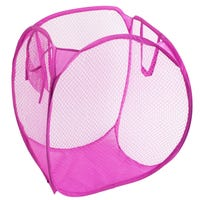 Pop Up Laundry Hamper Pink