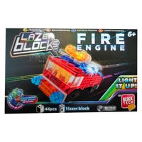Lazer Blocks Light Up Fire Engine