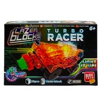 Lazer Blocks Light Up Turbo Racer