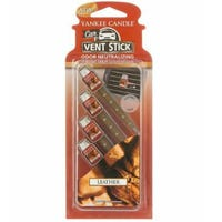 Yankee Candle Vent Stick Leather 4 Pack