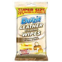 Duzzit Leather Cleaning Wipes 50 Pack
