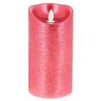 LED Candle Red 18cm