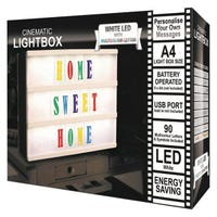 LED Cinematic A4 Light Box