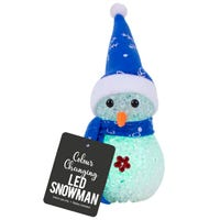 LED Colour Changing Snowman Assorted Colours