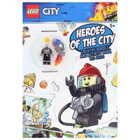 Lego Heroes of the City Doodle and Colour Activity Book with Toy
