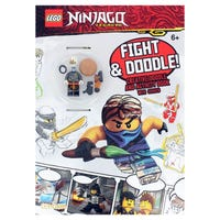 Lego Ninjago Doodle and Colour Activity Book with Toy