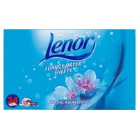 Lenor Tumble Dryer Sheets Spring Awakening 34 Sheets