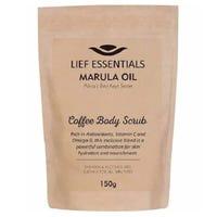 Lief Essentials Marula Oil Coffee Body Scrub 150g