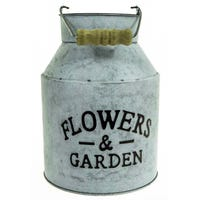 Lifetime Garden Metal Flower Pot 21cm