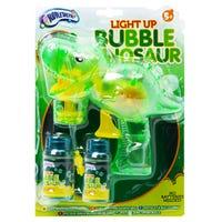 Light Up Bubble Dinosaur Gun