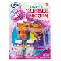 Light Up Bubble Unicorn Gun