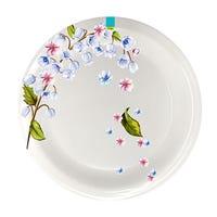 Edgo Melamine Lilac Flower Plate 8inch
