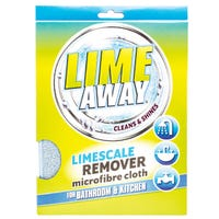 Lime Away Limescale Remover Microfibre Cloth