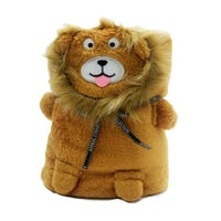 Cuddle Lion Blanket Brown
