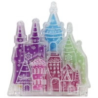 Disney Castle Lipgloss Compact Ocean Magic