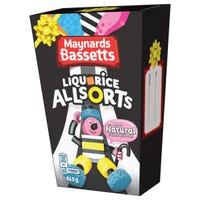 Maynards Bassetts Liquorice Allsorts 400g