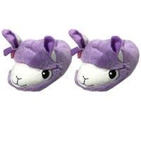 3D Kids Llama Slippers Size 10