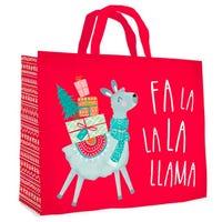 Christmas Fa La La La Llama Gift Bag