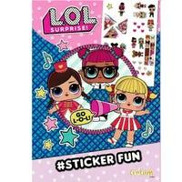 LOL Surprise Sticker Fun Book