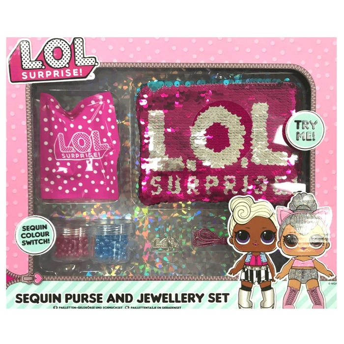 Lol Surprise Sequin Switch Purse And