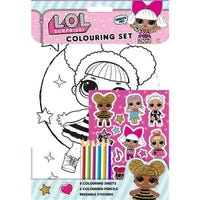 LOL Surprise Colouring Set