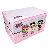 LOL Surprise Foldable Jumbo Storage Box Pink and Lilac