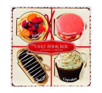 The Cake Book Box - 4 Recipe Books