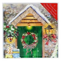 Luxury Christmas Cards with Envelopes 8 Pack Assorted