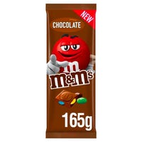 M&M Chocolate Block 165g